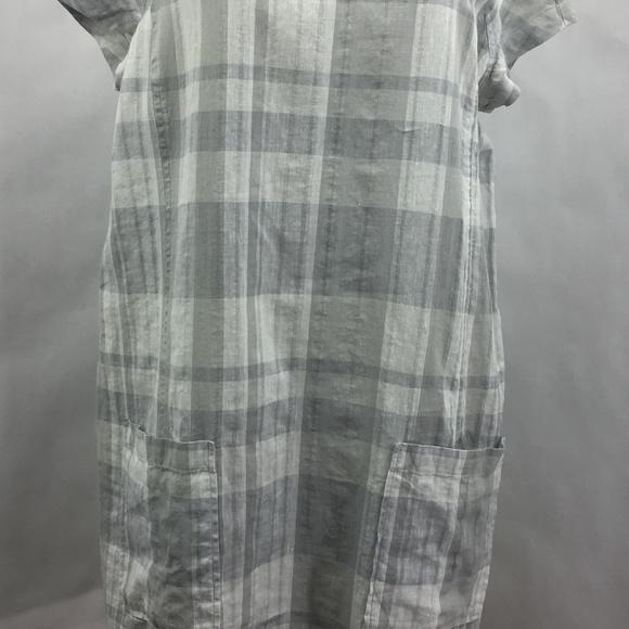 2edeb4bdcf8 Eileen Fisher Linen Blend NWT Shift Dress Large